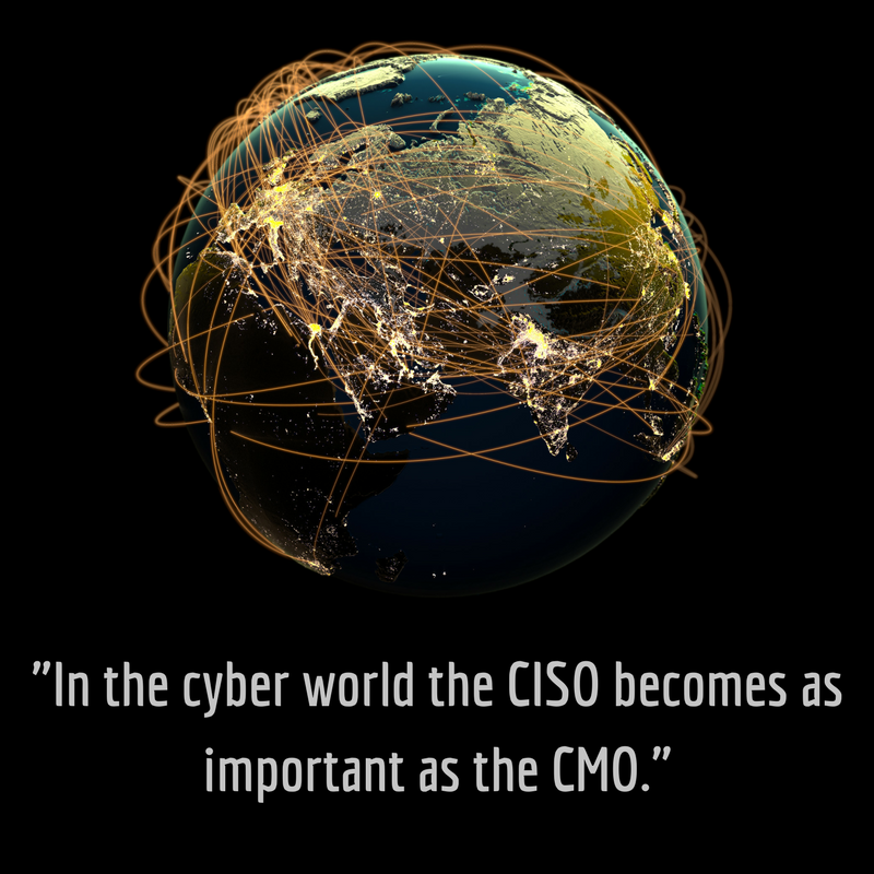 In the Cyber World CISO becomes as important as CMO